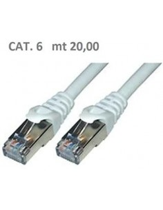 20,00 mt Cavo Cat6 UTP Blu