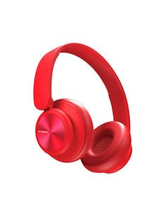 B24 Cuffie Bluetooth Red